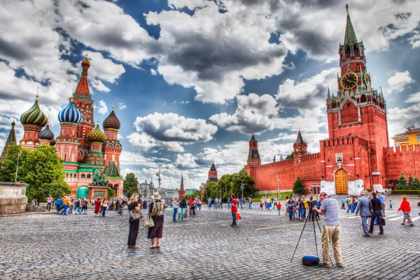 Red Square & St Basil's Cathedral - Moscow